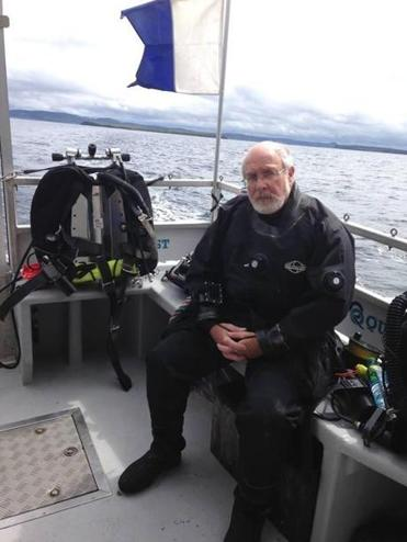 Tom Pritchard went missing while exploring the wreck on July 21.