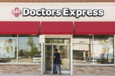 AFC Doctors Express is near the Burlington Mall.
