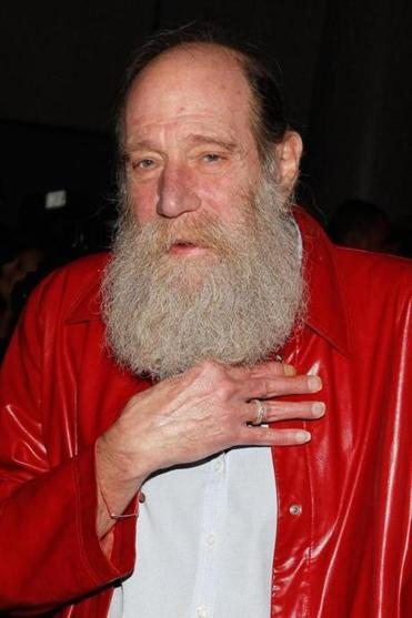 Artist Lawrence Weiner at the Guggenheim Museum in New York in 2011.
