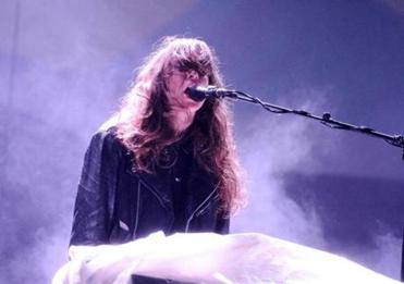 Victoria Legrand of Beach House performs during 2013 Governors Ball Music Festival.