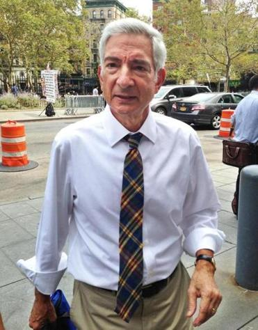 Judge Richard Berman entered federal court in New York on Monday.