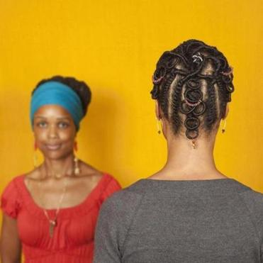 "From  Sonya Clark's ""The Hair Craft Project: Hairstylists With Sonya."""