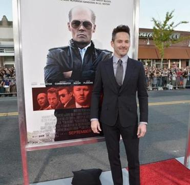 "Scott Cooper at the Boston ""Black Mass"" screening."