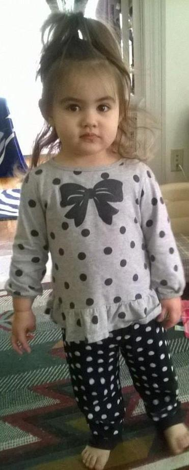 A child identified as Bella who is at the center of the Baby Doe investigation.