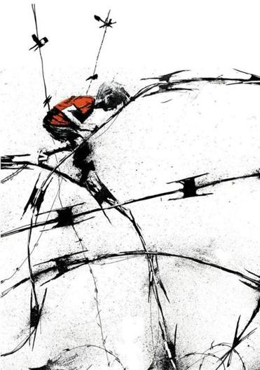 The tangled history of barbed wire - The Boston Globe