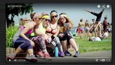 "A scene from ""Activewear,"" the satiric video by the Van Vuuren brothers, the popular sibling vloggers from Australia."