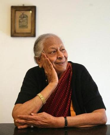 Rukmini Srinivas, 88, can re-create dishes from her childhood.