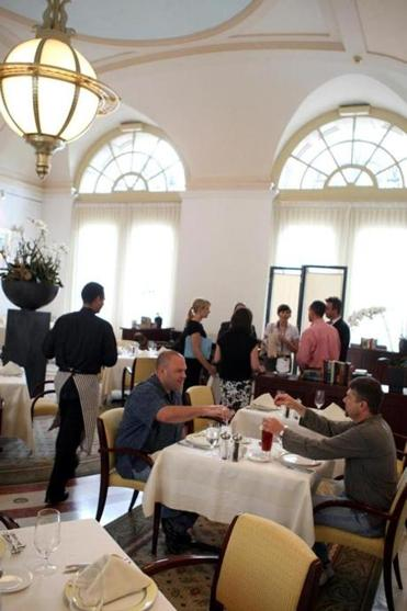 The Catered Affair also operates the Courtyard Restaurant at the library.