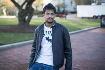Srikar Reddy, from India, is a graduate student in engineering management at Northeastern University.
