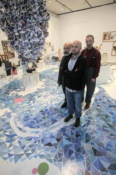 Iranian trio courts chaos in first US museum solo show at ICA - The ... b933b90068c