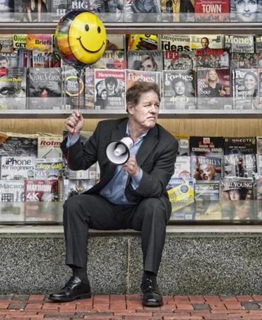 Cambridge native Jimmy Tingle has been a fixture on Boston's comedy scene since the 1980s.
