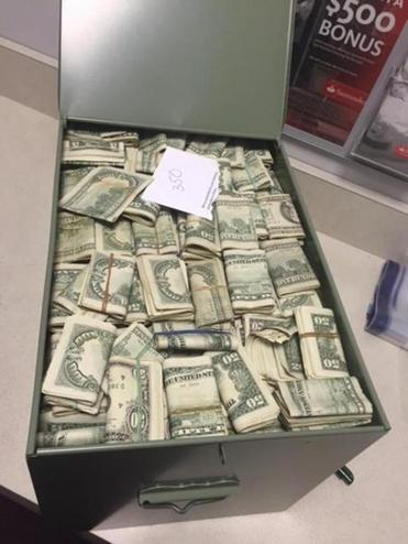 Authorities Find 800 000 And Jewelry In Safe Deposit