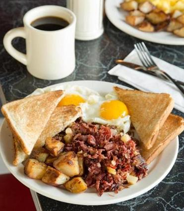 Corned Beef Hash At Mul S Diner In South Boston