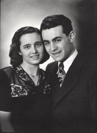 Drs. Paul and Anna Ornstein in 1948.