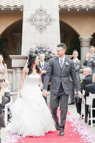 Can you guess Jenny Dell and Will Middlebrooks\'s wedding song ...