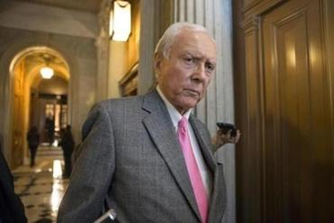 The US Senate's Finance Committee, led by Utah Republican Orrin Hatch (above), is investigating concurrent surgeries because it oversees federal health care programs, including Medicare.