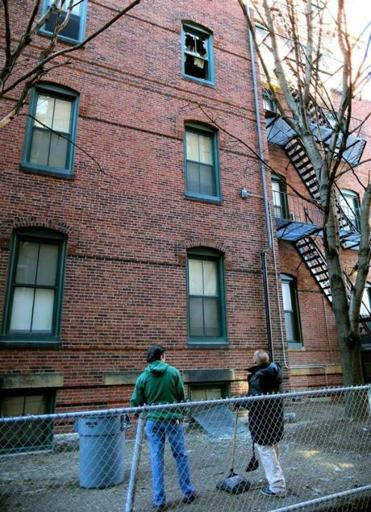 One Person Killed In South End Fire The Boston Globe - Boston south end apartments