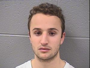 Matthew Kafker allegedly spray-painted racist, homophobic graffiti and the name of Donald Trump in an Illinois chapel.