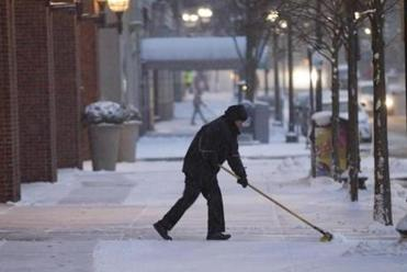 Bostonians Photos Of The Areas Snow Accumulation The Boston Globe - Snowfall totals massachusetts