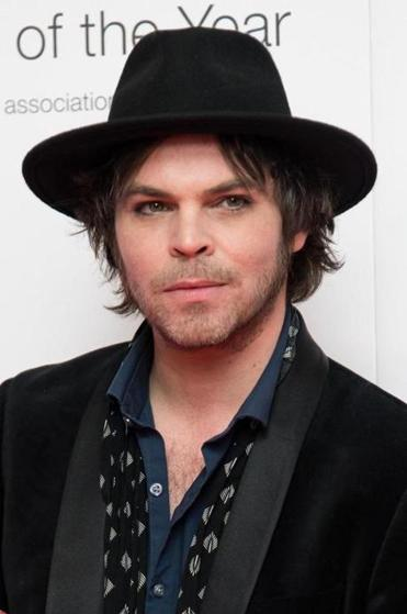 Gaz Coombes played a solo set at Berklee on Saturday.