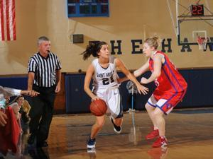 10nocatch- Former Saint Anselm basketball player Justine Lyons. (Saint Anselm Athletics)