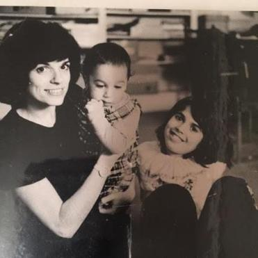 Ms. Pittas, shown in the 1970s with her daughter, Pilar (right), and her son, Christopher, balanced family and work.