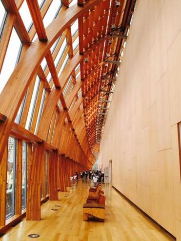 The Galleria Italia at the Art Gallery of Ontario.