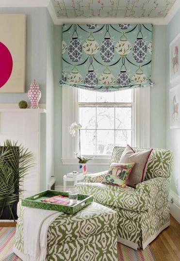 Chinoiserie chic-themed bedroom by Elizabeth Benedict.