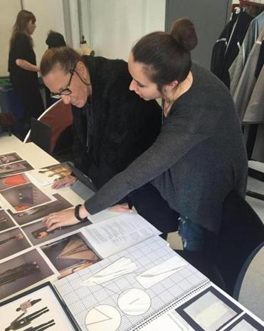 Angela Luna Goes Over Some Of Her Work With Famed Designer Donna Karan