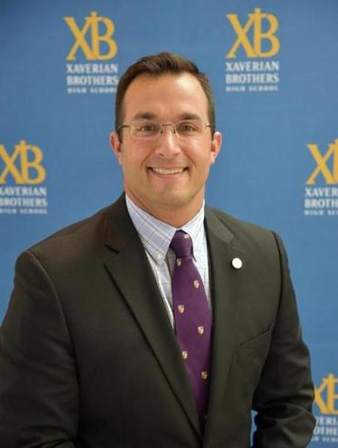 Jacob Conca was named principal of Xaverian Brothers High School in Westwood this year. (Xaverian Brothers High School)