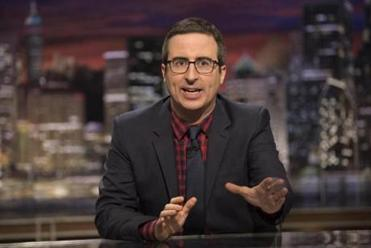 "HBO's ""Last Week Tonight with John Oliver."""