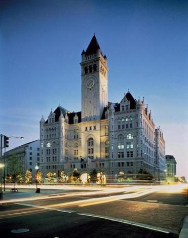 Trump Washington hotel Pictured: Rendering of Old Post Office. Photo credit: Handout/Carol M. Highsmith -- 11Trump