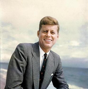 American Senator from Massachusetts, John F. Kennedy (1917 - 1963), 1957. (Photo by Hank Walker/The LIFE Picture Collection/Getty Images)