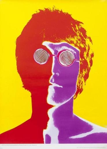 "Posters in the ""Century of Style"" show include Richard Avedon's psychedelic John Lennon."