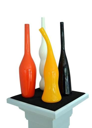 The Hot Glass Art Center features hand-blown glass pieces by local artists.