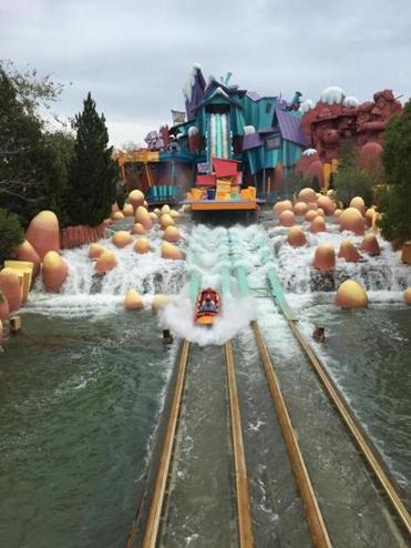 Dudley Do-Right's Ripshaw Falls at Islands of Adventure.