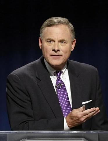 US Senator Richard Burr of North Carolina.