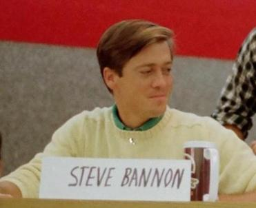 Steve Bannon during his Harvard years.