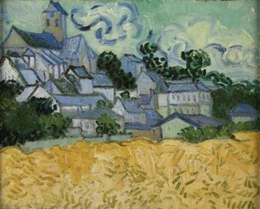 "Vincent van Gogh's ""View of Auvers-sur-Oise"""