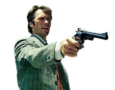 THE EVERETT COLLECTION MUST BE CREDITED FOR THIS IMAGE. THIS IS AN AGENCY PHOTO. --PAY FOR EACH USE OF THE PHOTO DIRTY HARRY, Clint Eastwood, 1971 08harry