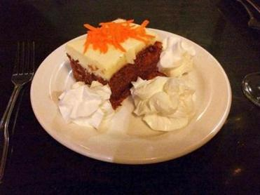 xxxodine -- Carrot cake at Dillon's Local in Plymouth, Mass. (Ellen Albanese for The Boston Globe)