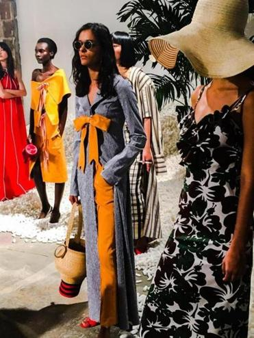 08zostyle - Rosie Assoulin's Spring Summer 2017 Collection presented at New York Fashion Week. (Patricia Marks-Martinovich)