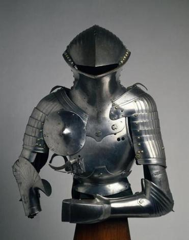 "Valentin Siebenbuerger's ""Composite Stechzeug (armor for the German Joust)."""