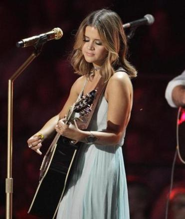 Maren Morris performed at the CMT Music Awards in June.