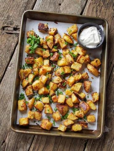 Recipe: cheddar roasted potatoes
