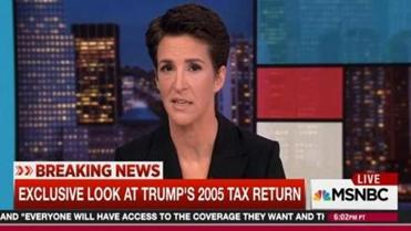 rachel maddow scores her biggest audience ever for tax return story