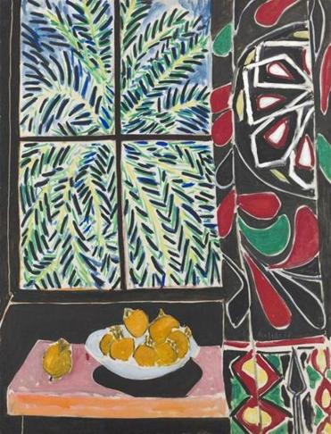 "Matisse's ""Interior With Egyptian Curtain"""