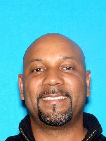 epa05902164 An undated handout photo made on 11 April 2017 available by the San Bernardino Police Department shows Cedric Anderson, aged 53, who was identified as a suspect in a shooting at a school in San Bernardino, California, USA. According to media reports, a gunman, who was identified by police as 53-year-old Cedric Anderson, entered a school in San Bernardino on 10 April, shot his wife Karen Smith, who was working as a teacher at the school, and then directed the gun at himself, which lead to his death. Eight-year-old student Jonathan Martinez, died from fatal wounds and another nine-year-old student is reportedly being treated at a hospital. EPA/SAN BERNARDINO POLICE HANDOUT BEST QUALITY AVAILABLE HANDOUT EDITORIAL USE ONLY/NO SALES
