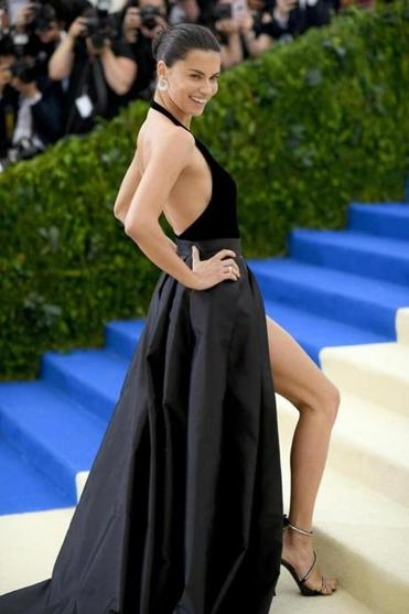 Adriana Lima At The MET Gala In New York