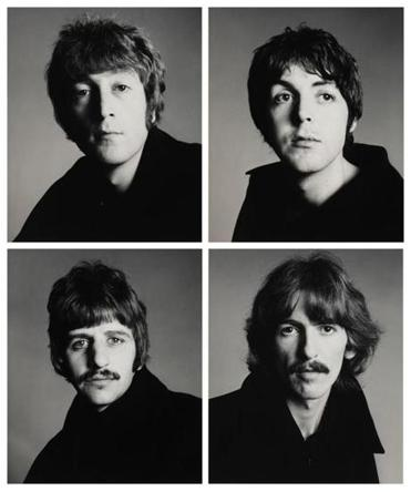 Richard Avedon's photo of The Beatles, from the Schneider/Erdman photography acquisition.
